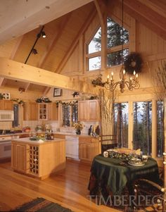 Residential | Timberpeg Post and Beam
