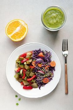 Przykładowy jadłospis na 7 dni postu warzywno-owocowego