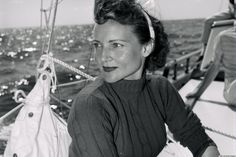 Even before she became a household name known as much for her comic timing as for her enchanting smile, Betty White still radiated star power.  In this vintage photo shared on imgur, the actress, then in her mid-30s, is pictured looking radiant and carefree with windblown hair as she sits on a boat in 1957. While she may not look quite the same anymore, one thing is for certain (as the actress rapped in a 2013 video): She may be a senior, but she's still hot.