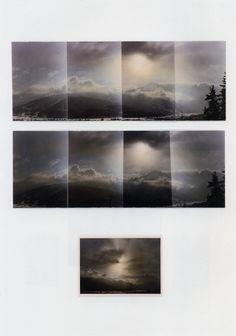 Gerhard Richter Landschaften Landscapes 1970 51.7 cm x 36.7 cm