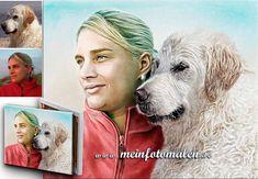 Portrait nach Fotovorlage Portraitzeichnung Pferdeportrait Hundeportrait Katzenportrait Tiermalerei Tierportrait dogs pets Bleistift Kohle Acryl Aquarelle