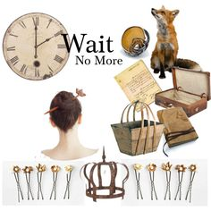 """Wait No More"" by arxrosarum on Polyvore. Featuring: AncientMuse.etsy.com, LucieTales.etsy.com, MedievalJourney.etsy.com, Mariela.etsy.com, mysugarland.co.uk, shopcandelabra.com, theorchardhomeandgifts.com, secondshoutout.com. Place Cards, Waiting, Place Card Holders, Collections, Polyvore, Etsy"