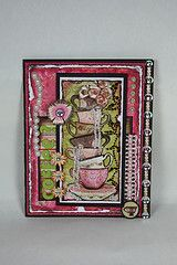 Bo Bunny: July Card Challenge - Handmade Flowers