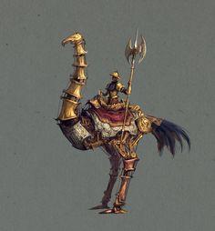 Thomas Brissot - Character Design Page