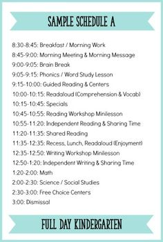 Fitting It All In: How to Schedule a Literacy Block for Kindergarten - Learning at the Primary Pond