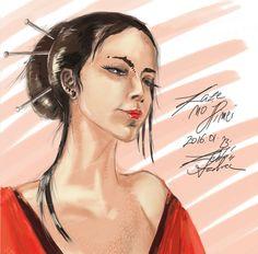Lady Long by lafilleduserpent.deviantart.com on @DeviantArt