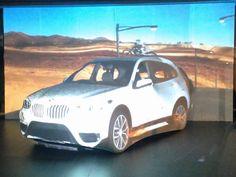 Projection Mapping per presentazione ufficiale nuova BMW X1