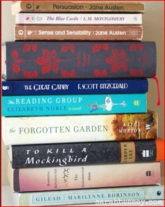 10 Suggested Books to Read:  DONE:  Forgotten               To Kill A Mocking Bird