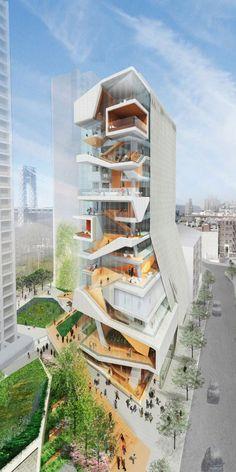 New Columbia University Medical Building