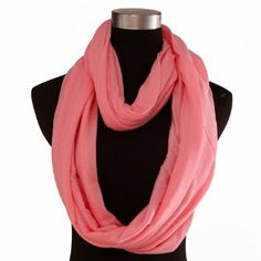 HDE Womens Infinity Loop Scarf Sheer Two Circle Neck Wrap Lightweight Shawl Cowl