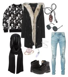 """love"" by averina30 on Polyvore featuring AMIRI, Carhartt, AORON, Woolrich and Amour"