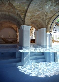 i'd call this one atlantis...part of the room is under water :)