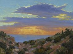 Wish you were here (Grand Canyon) -  12x16 by Cody DeLong  ~  oil