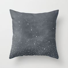 Ursa Major Throw Pillow by BELLES & GHOSTS - $20.00