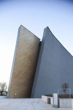 San Josemaría Escrivá Church by Javier Sordo Madaleno Bringas #architecture ☮k☮