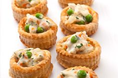 Chicken Pot Pie Bites | 101 Bite-Size Party Foods