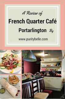 My review of the French Quarter Café in Portarlington, County Laois and the opening of An Siopa Nollaig.