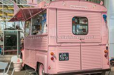 Citrroën HY van at CitroMobile, selling ice cream