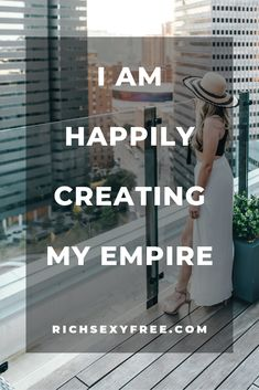 How to create your empire. Affirmations For Women, Wealth Affirmations, Law Of Attraction Affirmations, Positive Affirmations, Business Quotes, Business Goals, Business Ideas, My Dream Came True, Power Of Positivity