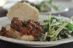 Sloppy Joes have always been one of those lifesaver meals that are quick to make when you have a lot going on and great for leftovers too. I've not added vegetables to this one, but you can easily ad Beef Recipes, Chicken Recipes, Pennsylvania Dutch Recipes, Our Daily Bread, Seafood Dishes, Main Meals, A Food, Main Dishes, Healthy Eating