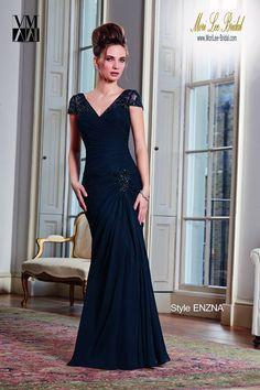 Style ENZNA   Chiffon/Mesh  Dress and Stole. Colors available: Navy, Plum, Platinum, Cashmere, Cranberry. Sizes available: 2-26.  Precio: $1.422.850 Pesos Colombianos. Precio: $646.00 Dolares Americanos.