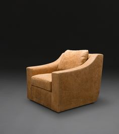 Clarence Club Swivel Chair by Verellen