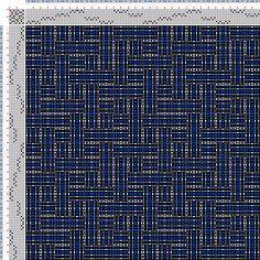 draft image: Figurierte Muster Pl. XLVIII Nr. 6 (a) Motif 3, Die färbige Gewebemusterung, Franz Donat, 8S, 8T