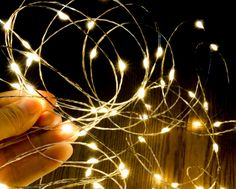 10M 33Ft Micro 100 Leds Silver Copper Wire LED String Light Fairy Lights Includes Power Adapter UK US AU EU Plug With CE ROSH-in LED String from Lights & Lighting on Aliexpress.com | Alibaba Group