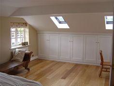 Image result for loft room storage cupboard doors