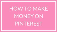 Did you know that you can use affiliate links on Pinterest? *Cue the happy  dance*  In 2015, Pinterest had taken this feature out because of a flood of scams  and spam. After some changes and improvements, it's back! Most bloggers  earn a portion of their income from Pinterest, so you can imagine how it  affected them last year.  Affiliate Marketingis one of my favorite ways to monetize a blog. Passive  income, what, WHAT?! Using affiliate marketing on Pinterest is amazing  because you have…