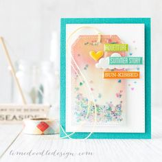 shaker tag by limedoodle - Cards and Paper Crafts at Splitcoaststampers