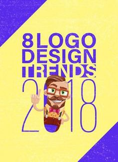 #99designs presents the 8 logo design trends that will rule in 2018.