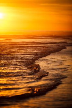 Sunset in San Diego, California