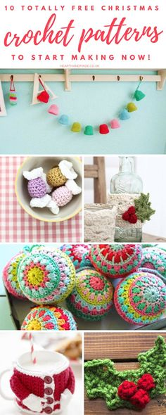 10 Fabulous and Free Christmas Crochet Patterns