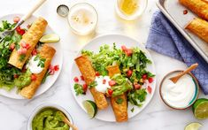 Shop local groceries for delivery in the San Francisco Bay Area. For a fresh take on chicken dinner, repackage it up into these tasty taquitos. The chicken is already cooked, shredded, and ready to roll, and an oven method