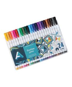 Another great find on #zulily! 24-Ct. Fine-Line Pens #zulilyfinds