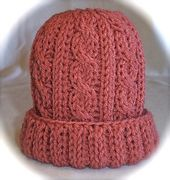 Ravelry: Loom Knit Cabled Baby Hat pattern by Faith Schmidt