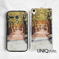 #Life #quote #typo #Sony #Motorola phone case for Sony by Uniqstyle, $9.99