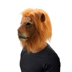 [Mens Halloween Costumes] WloveTravel Costume Party Lion Head Mask Halloween Cosplay Decorations *** You can get more details by clicking on the image. (This is an affiliate link) #MensHalloweenCostumes