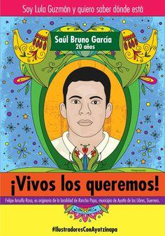 Yo, Lula Guzmán, quiero saber dónde está Saúl Bruno García. https://plus.google.com/photos/+EnriquePeralta2014/albums/6079646929889276353