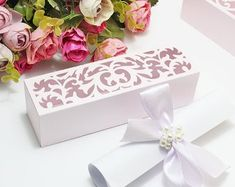 ShubhSaugat best trousseau packing in Lucknow Indian Wedding Favors, Wedding Favors For Guests, Wedding Boxes, Wedding Cards, Box Invitations, Invitation Card Design, Cajas Silhouette Cameo, Laser Paper, Cricut