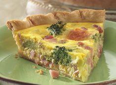 Ham and Broccoli Quiche Recipe   by Pillsbury.com