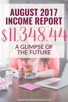 Things are looking up for Miranda Nahmias & Co! Check out my August 2017 Income Report // Miranda Nahmias & Co. Digital Marketing + Virtual Assistance