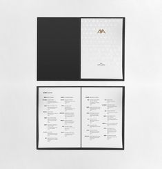Chinese fine dining restaurant, Aya brand identity and menu design by Tuesday Stevenson employee at © Spaceagency