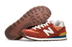 Newest Style New Balance Vintage Pack Red Turquoi Suede ML574COR