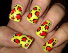 LMFAO inspired by Rainbowgrrrl - Nail Art Gallery nailartgallery.nailsmag.com by Nails Magazine www.nailsmag.com #nailart