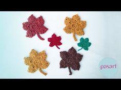 Jak zrobić liście na szydełku? Szydełkowe liście krok po kroku - pasart.pl - YouTube Crochet Leaves, Craft Tutorials, Crochet Earrings, Crafts For Kids, Crafty, Creative, Youtube, Projects, Group