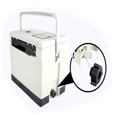 Medical Cooler Box - specially designed to hold blood samples and donations within essential safe temperature limits without electricity during transport.