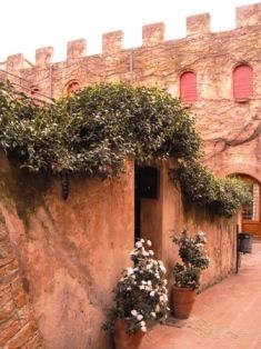 The village of Certaldo Alto, a true jewel of middle ages architecture, conserves still today all its originary beauty
