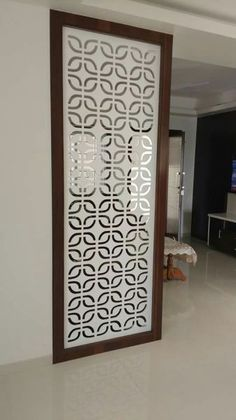 Everything you need to know about MDF,HDF, Particle Board Glass Partition Designs, Living Room Partition Design, Pooja Room Door Design, Home Room Design, Living Room Designs, Living Room Elevation, Living Room Modern, Living Room Decor, Jaali Design
